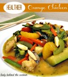 Healthier Orange-Chicken Stir Fry