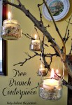 Tree Branch Centerpiece
