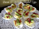 Bacon & Avocado Deviled Eggs