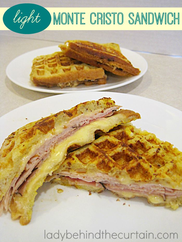 This Light Monte Cristo Sandwich is light on the calories but does not compromise on flavor.
