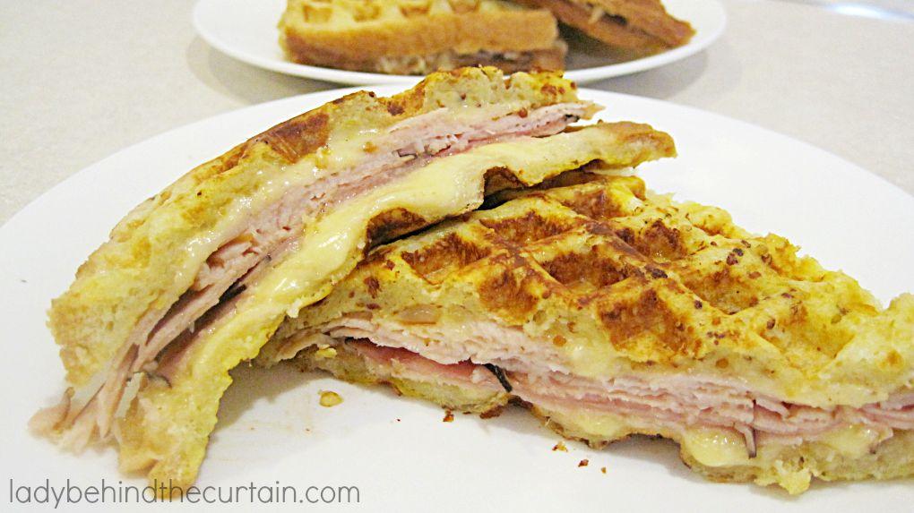 Light Monte Cristo Sandwich