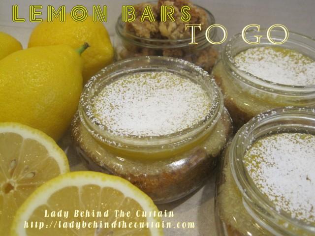 lemon bars to go
