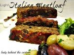 Light Italian Meat Loaf