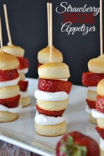 Strawberry Shortcake Appetizer