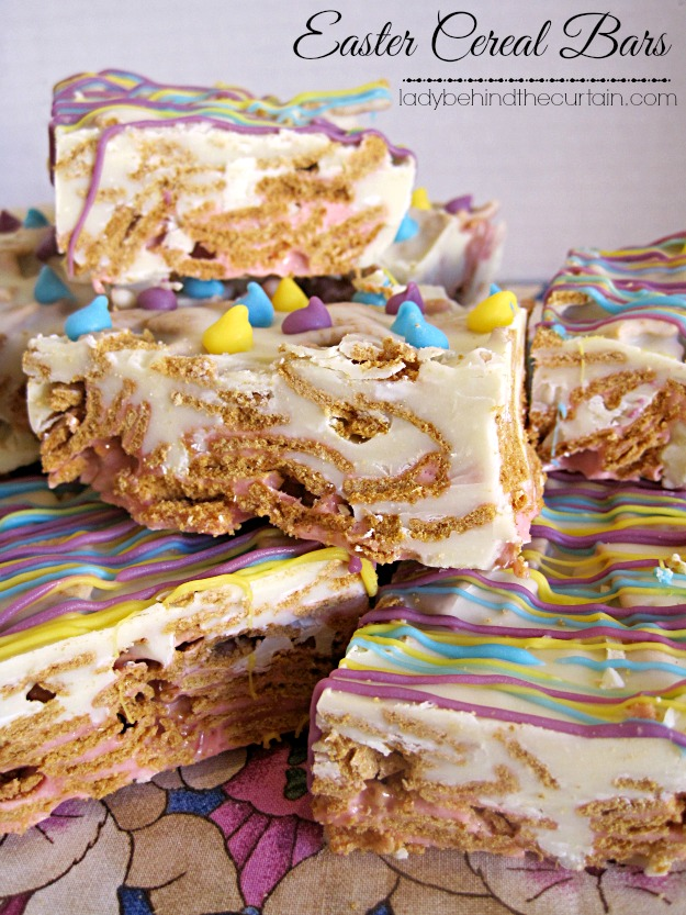 Easter Cereal Bars - Lady Behind The Curtain