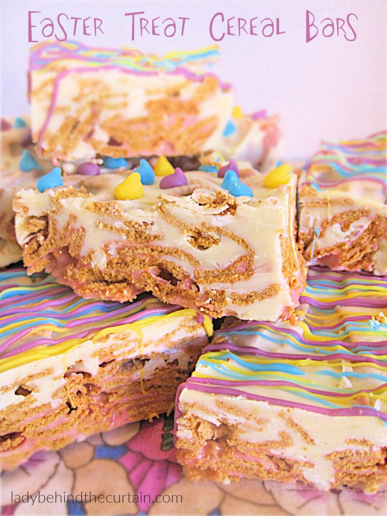 Easter Cereal Bars