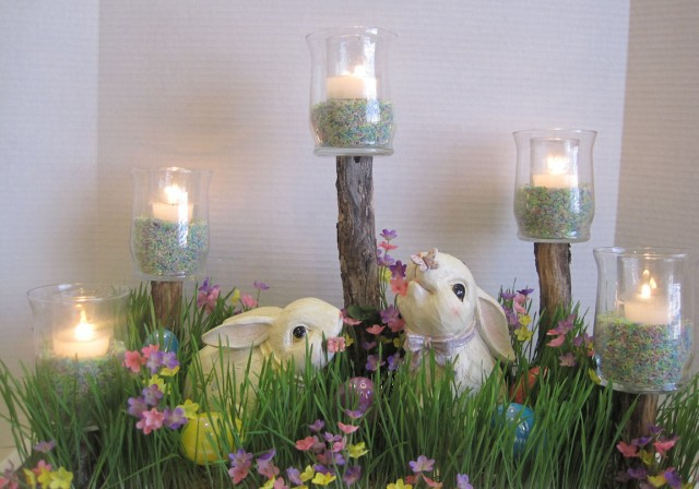 easter/spring centerpiece