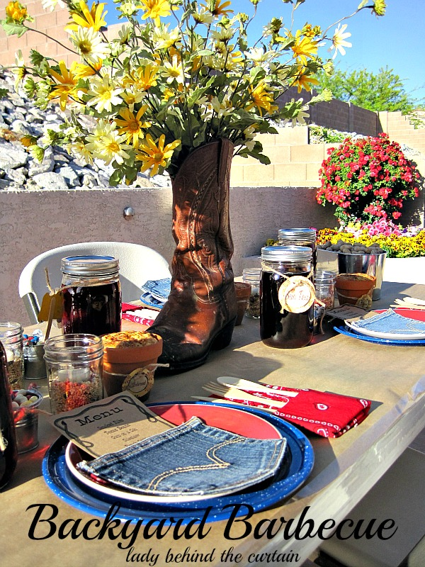 Backyard barbecue for Backyard bbq decoration ideas