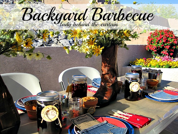 Lady Behind The Curtain - Backyard Barbecue