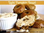 Light Pumpkin Spice Bagels