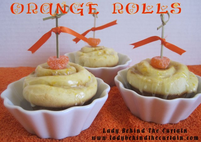 Orange Rolls
