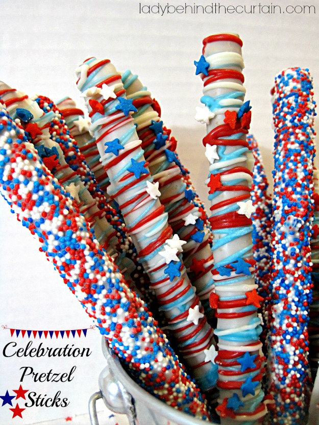 Celebration Pretzel Sticks - Lady Behind The Curtain