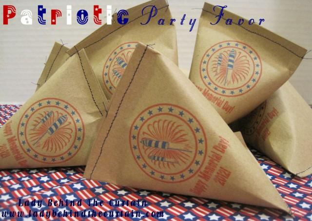 patriotic party favor