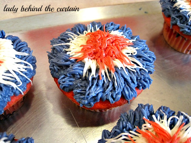 Lady Behind The Curtain - Celebration Cupcakes