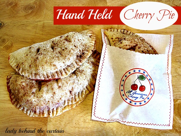 Lady Behind The Curtain - Hand Held Cherry Pies
