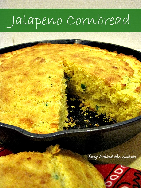 Lady Behind The Curtain - Jalapeno Cornbread