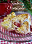 Strawberry Cheesecake Scones