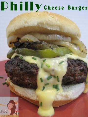Philly-Cheese-Burger