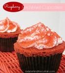 Raspberry Red Velvet Cupcakes