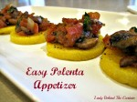 Easy Polenta Appetizer
