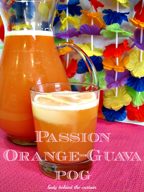 Lady Behind The Curtain - Passion Orange Guava