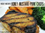 Weight Watchers: Honey – Mustard Pork Chops