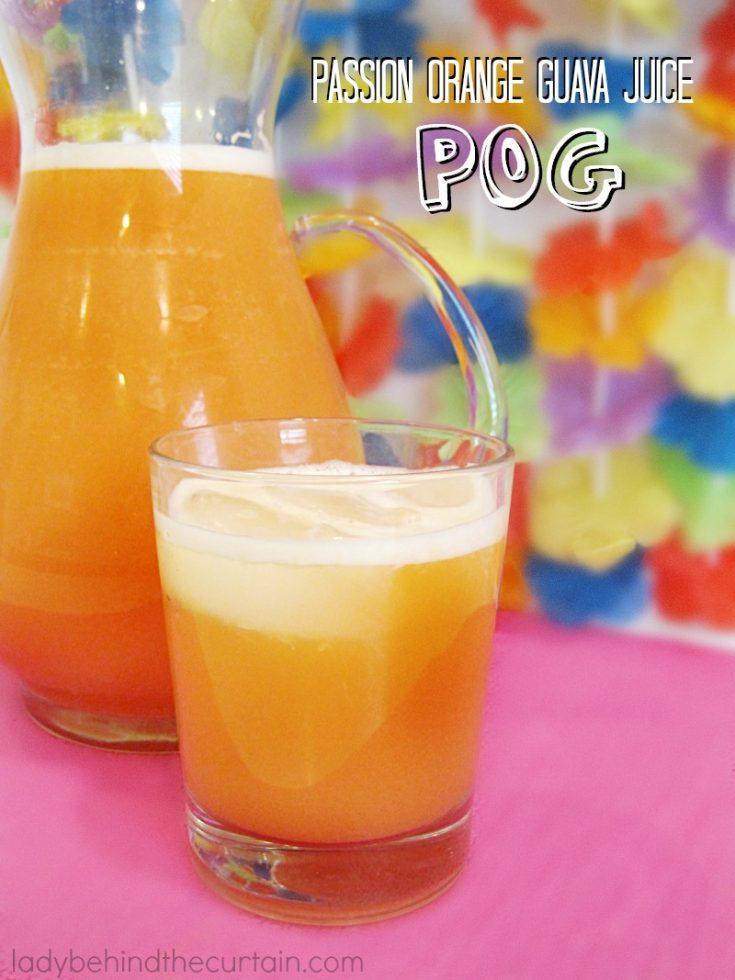 Passion Orange Guava Juice POG