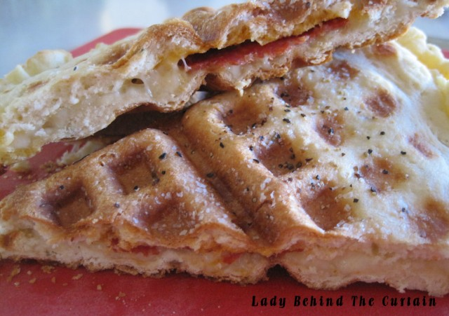 Lady Behind The Curtain - Waffle-Maker-Pizza