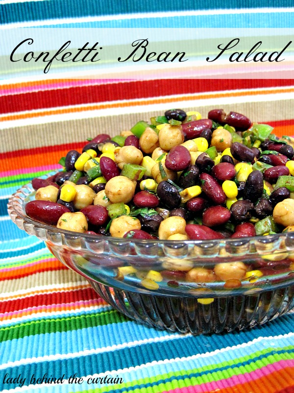 Lady Behind The Curtain - Confetti Bean Salad