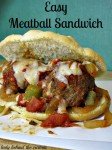 Easy Meatball Sandwich