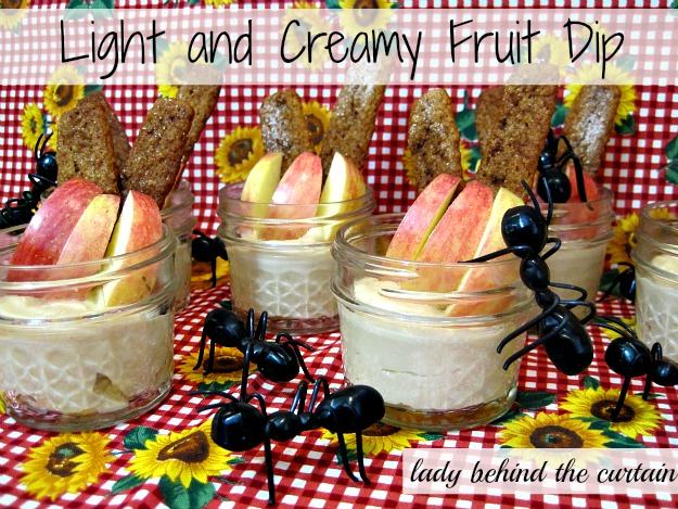 Lady Behind The Curtain - Light & Creamy Fruit Dip