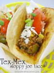 Tex-Mex Sloppy Joe Tacos