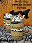 Bewitching Pumpkin Mousse Parfaits