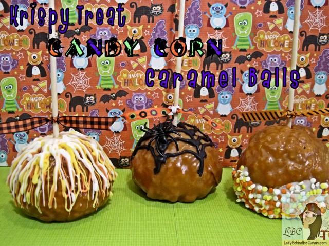 Lady-Behind-The-Curtain-Krispy-Treat-Candy-Corn-Caramel-Balls