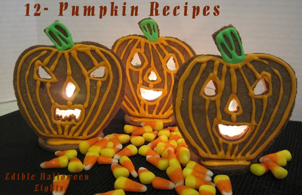 12-pumpkin recipes