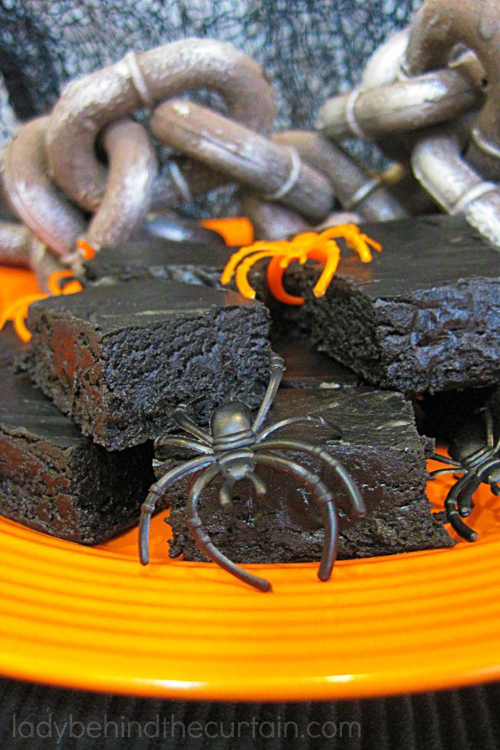Black Velvet Halloween Fudge Pops 4