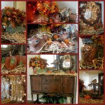 Buffet Tables – Decorated for Fall