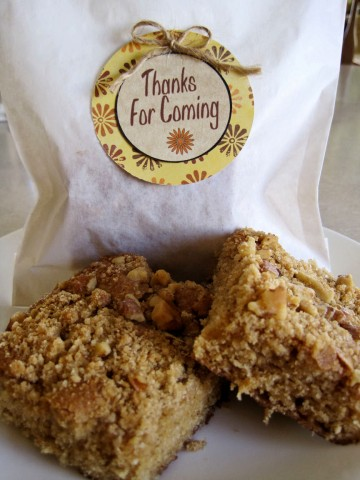 Lady Behind The Curtain - Cowboy Coffee Cake Party Favor