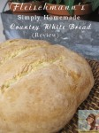 Fleischmann's Simply Homemade Country White Bread {Review}