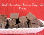 Nestle-Carnations Famous Fudge Kit {Review}