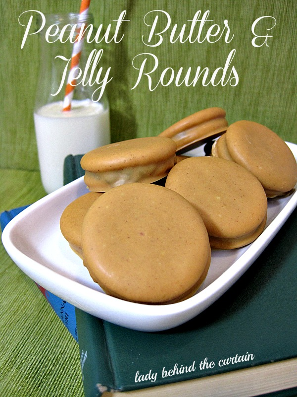 Lady Behind The Curtain - Peanut Butter & Jelly Rounds