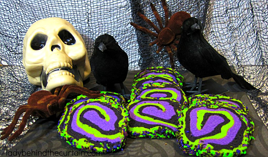 Witches Brew Halloween Butter Cookies