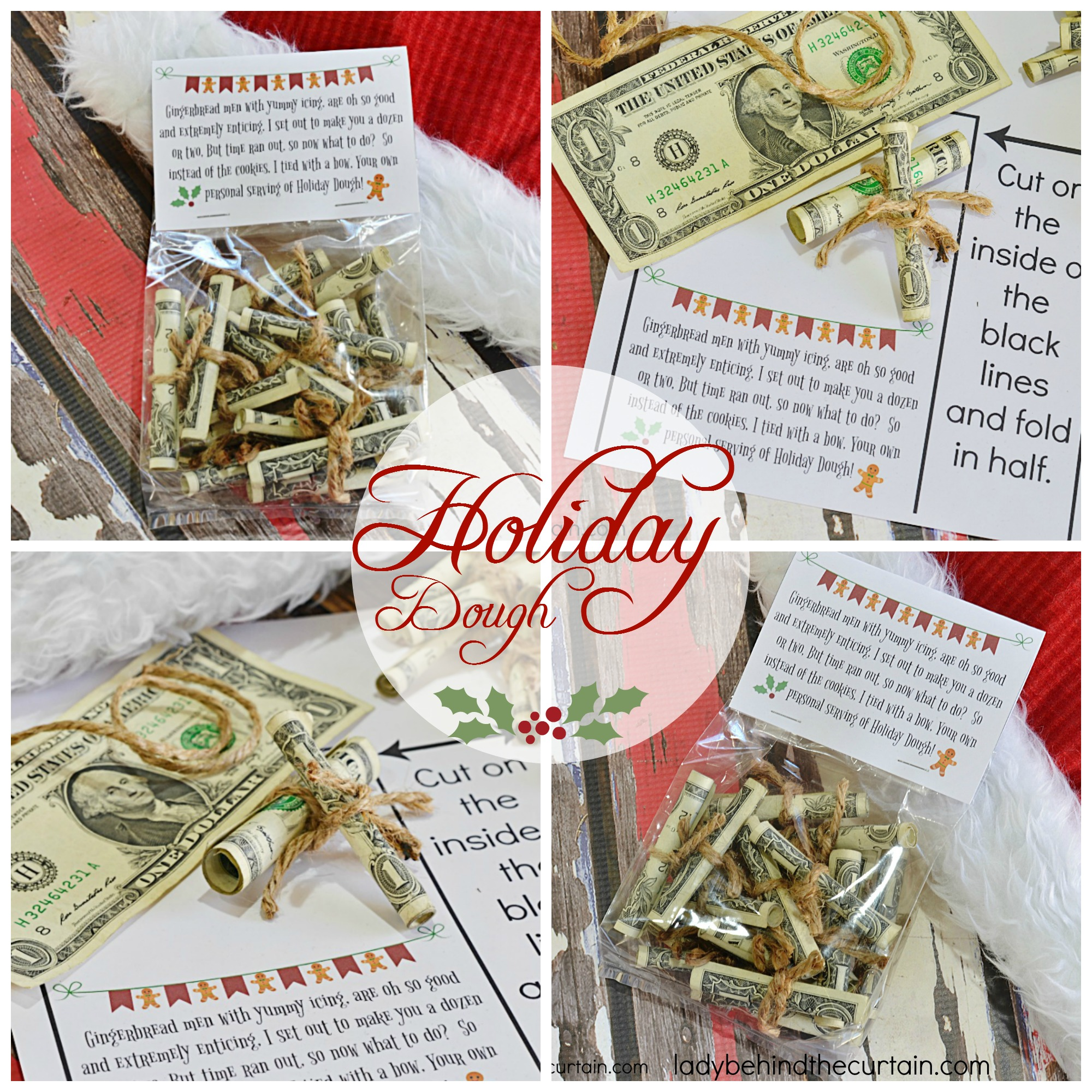 Holiday Dough | Do you have someone on your Christmas list that is hard to buy for?