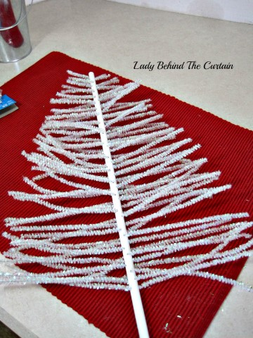 Lady Behind The Curtain - Chenille Tree