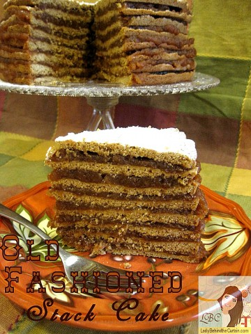 Lady-Behind-The-Curtain-Old-Fashioned-Stack-Cake