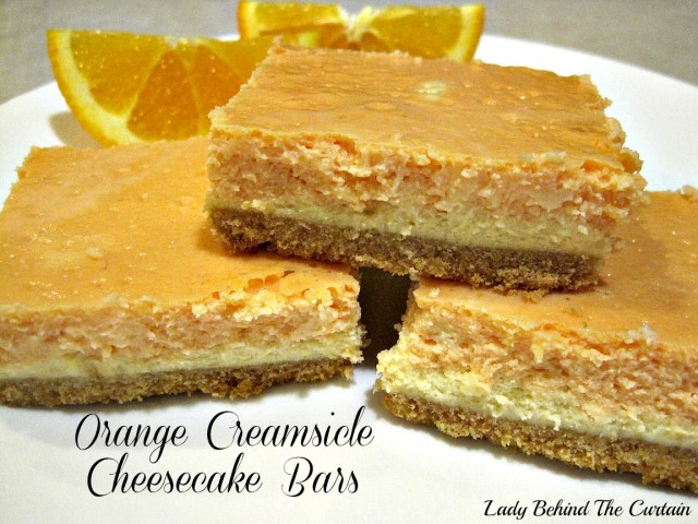Lady-Behind-The-Curtain-Orange-Creamsicle-Cheesecake-Bars
