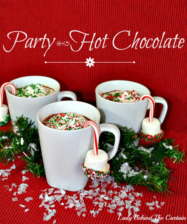 Lady Behind The Curtain - Party Hot Chocolate