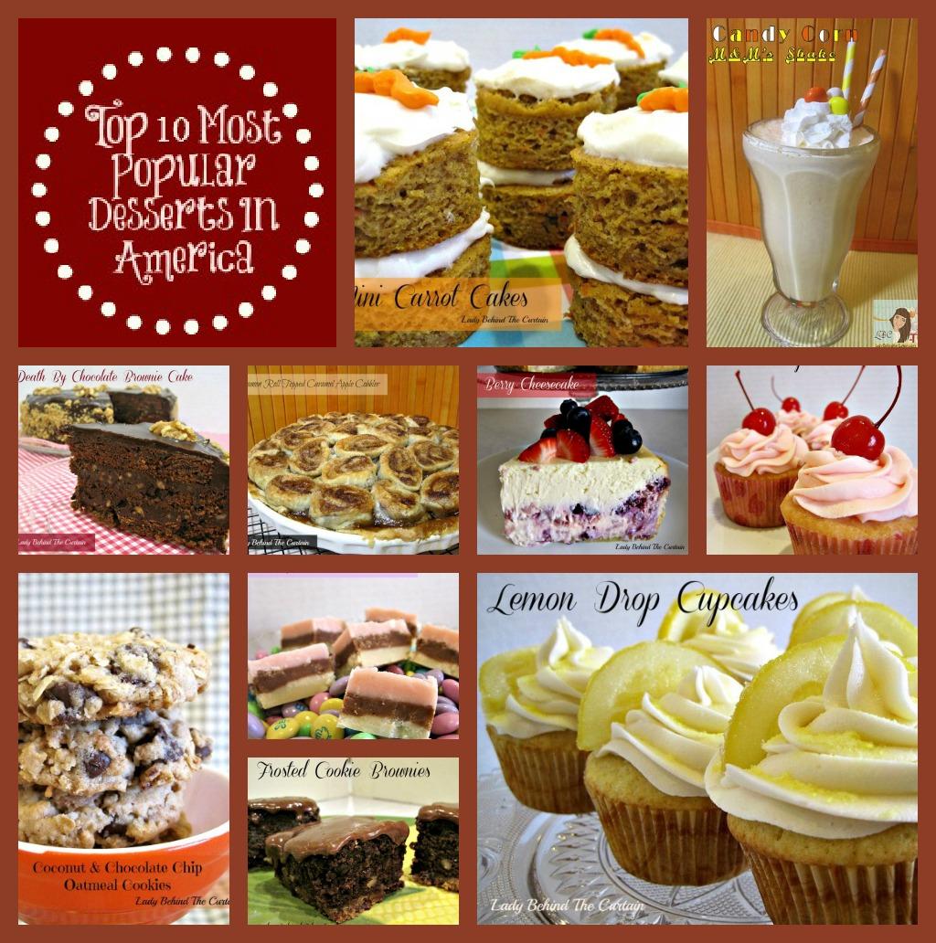 10 most popular desserts in america