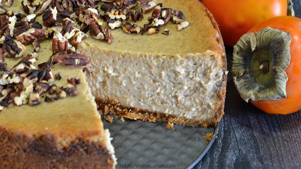 Persimmon Cheesecake