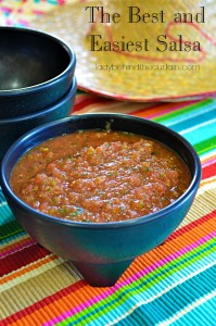 The Best and Easiest Salsa - Lady Behind The Curtain